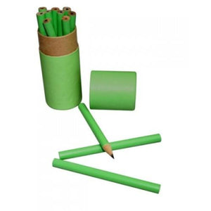 Eco Friendly 12pcs Wooden Pencil Set | Pencil | Stationery | AbrandZ: Corporate Gifts Singapore