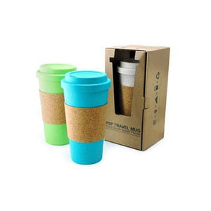 Eco Friendly Mug with Cork Sleeve | AbrandZ: Corporate Gifts Singapore