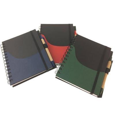 Eco-Friendly Notebook With Paper Pocket
