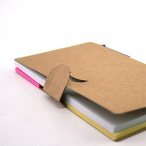 Eco Friendly Notepad With Pen | AbrandZ: Corporate Gifts Singapore