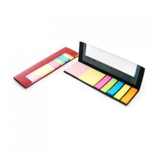 Eco Friendly Post-It Pad With Ruler