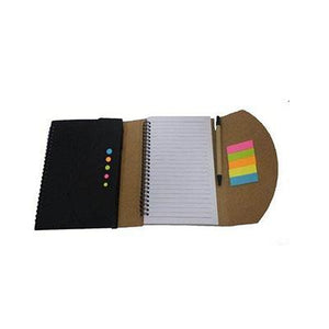 Eco Notebook With Post-it And Pen | Notebook | Stationery | AbrandZ: Corporate Gifts Singapore
