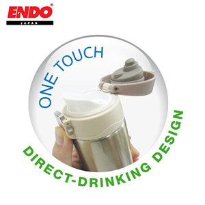 ENDO 300ml Double Stainless Steel Mug