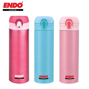 ENDO 480ml Lightweight Double Stainless Steel Flask