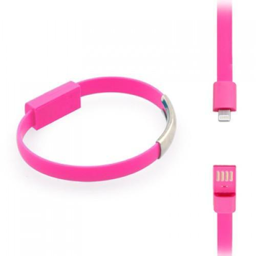 Estone Bracelet Apple USB Cable Coral