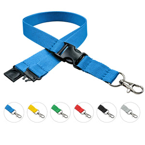 Design your own lanyard color.