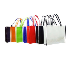 A3 Landscape Non-Woven Bag with Trimmings - abrandz