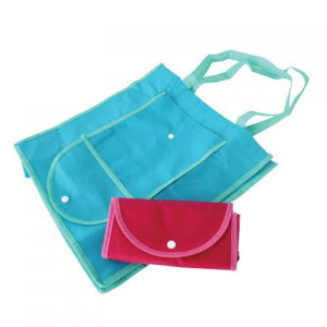 Foldable shopping bag with velcro - Corporate Gifts Singapore