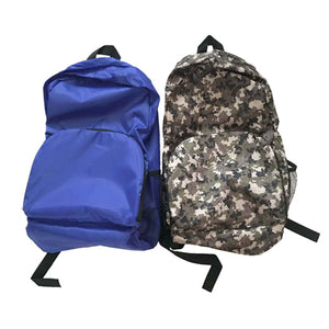 Foldable Polyester Travel Backpack | AbrandZ Corporate Gifts Singapore