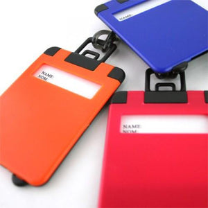 Frosted Luggage Tag | AbrandZ: Corporate Gifts Singapore