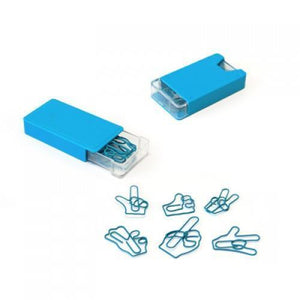 Gesture Shape Paper Clips | AbrandZ: Corporate Gifts Singapore
