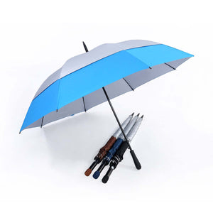 30'' Double Layer Golf Umbrella with UV Coated