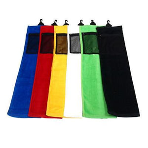 Golf Towel with Mesh pocket | AbrandZ: Corporate Gifts Singapore