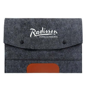 13'' Felt and PU Leather Ipad Tablet Sleeve - abrandz