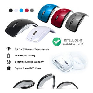 Foldable Wireless Arc OpticalMouse | AbrandZ Corporate Gifts Singapore
