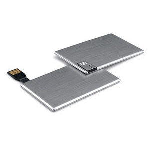 Aluminium Card USB Flash Drive - abrandz