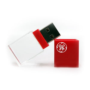 Acrylic Rectangular USB Flash Drive | AbrandZ Corporate Gifts Singapore