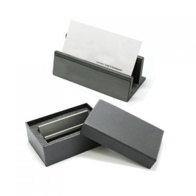 Gun Metal Name Card Holder | Name Card Holder | AbrandZ: Corporate Gifts Singapore