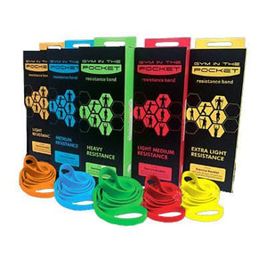 GYM In The Pocket Resistance Band - abrandz