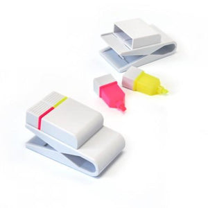 Highlighter with Clip | Highlighter, Stationery | desk | AbrandZ: Corporate Gifts Singapore