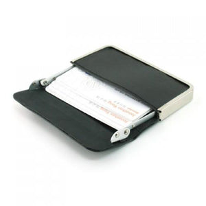 Leather Name Card Holder - abrandz