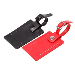 Luggage Tag | Bicast Leather | AbrandZ: Corporate Gifts Singapore