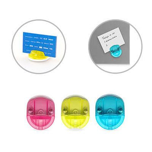 Magnetic Note Holder | Post-it Pad, Stationery | desk | AbrandZ: Corporate Gifts Singapore