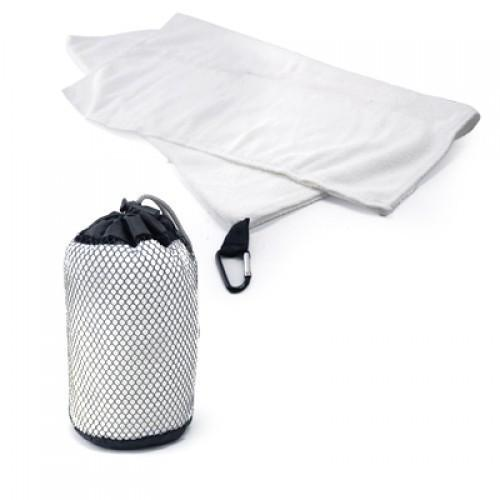 Microfibre Towel with carabiner hook