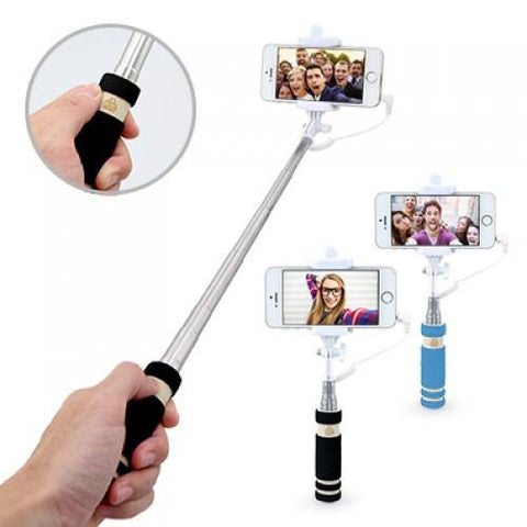 Mini Selfie Stick with Wire | AbrandZ.com