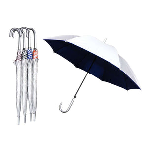 "24"" Auto Open Straight Umbrella with UV Coated"