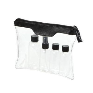 Munich Airline Approved Travel Bottle Set | Toiletries Pouch, Travel Bag | Travel | AbrandZ: Corporate Gifts Singapore