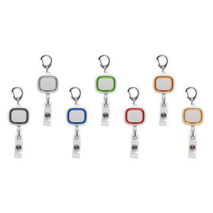 Neon Retractable Badge Holder | Pull Reel | wearable | AbrandZ: Corporate Gifts Singapore