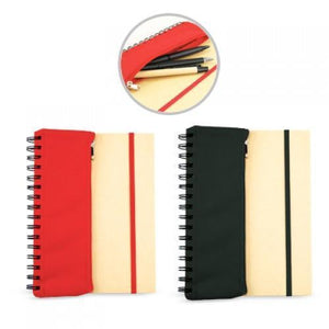 Notebook with Stationery Pouch | AbrandZ: Corporate Gifts Singapore