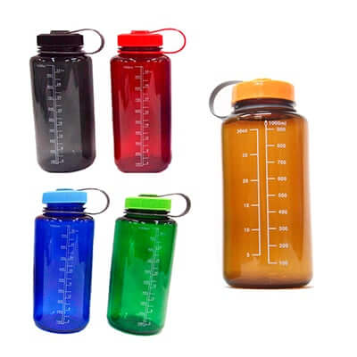 1 Litre Wide Mouth Water Bottle
