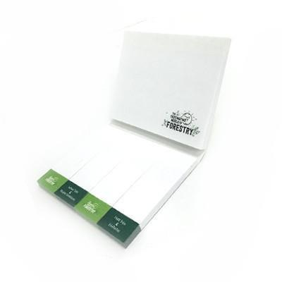 Post-it Pad with Cover ( 3 x 4 + 1 x 3-4 pads ) | AbrandZ.com