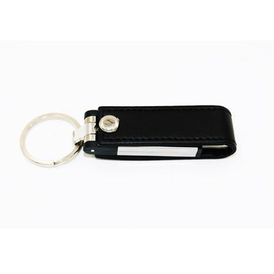 Premium Swivel Leather USB Drive