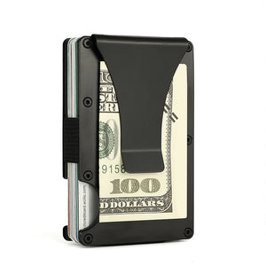 Aluminium RFID Case with Money Clip - abrandz