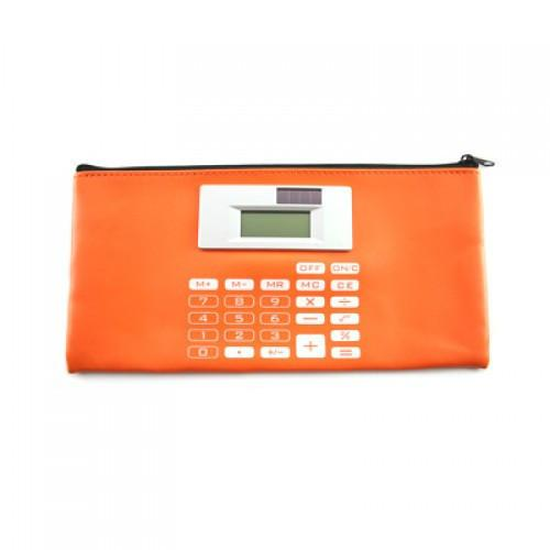 PU Stationery Case With Calculator