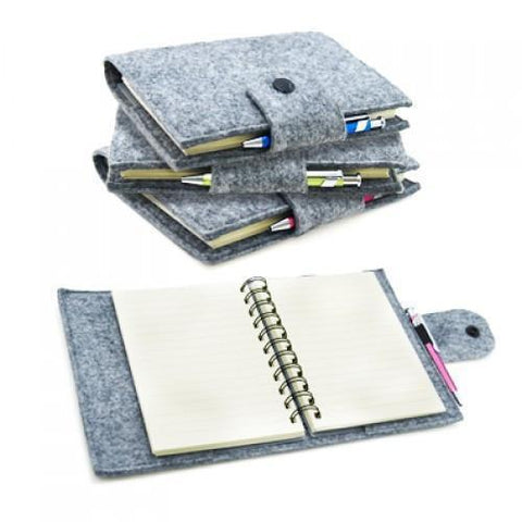 Recycle Felt Spiral Notebook | AbrandZ.com