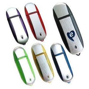 Rounded Plastic USB Flash Drive - abrandz