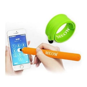 Silicone Slap Band with Touch Pen - abrandz