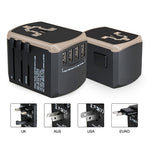 Travel Adapter with 4 USB Port