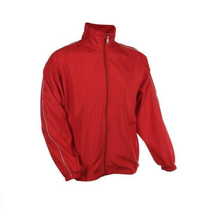 Windbreaker with sleeve accents - abrandz