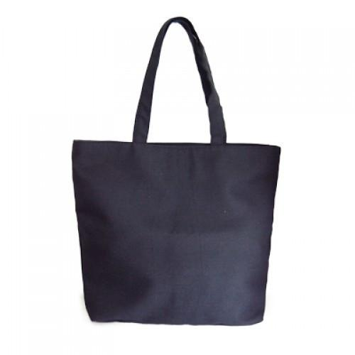 Zippered Eco Cotton Bag