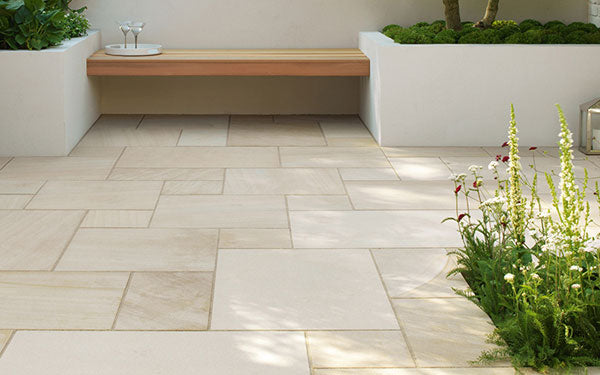 Beachside Natural Stone Paving