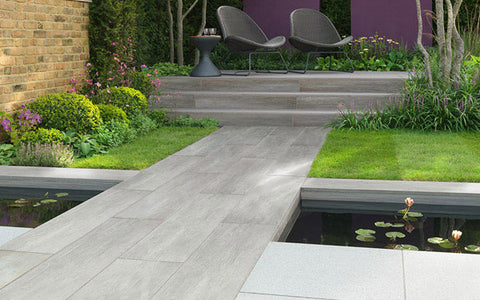 Knotwood Vitrified Garden Paving