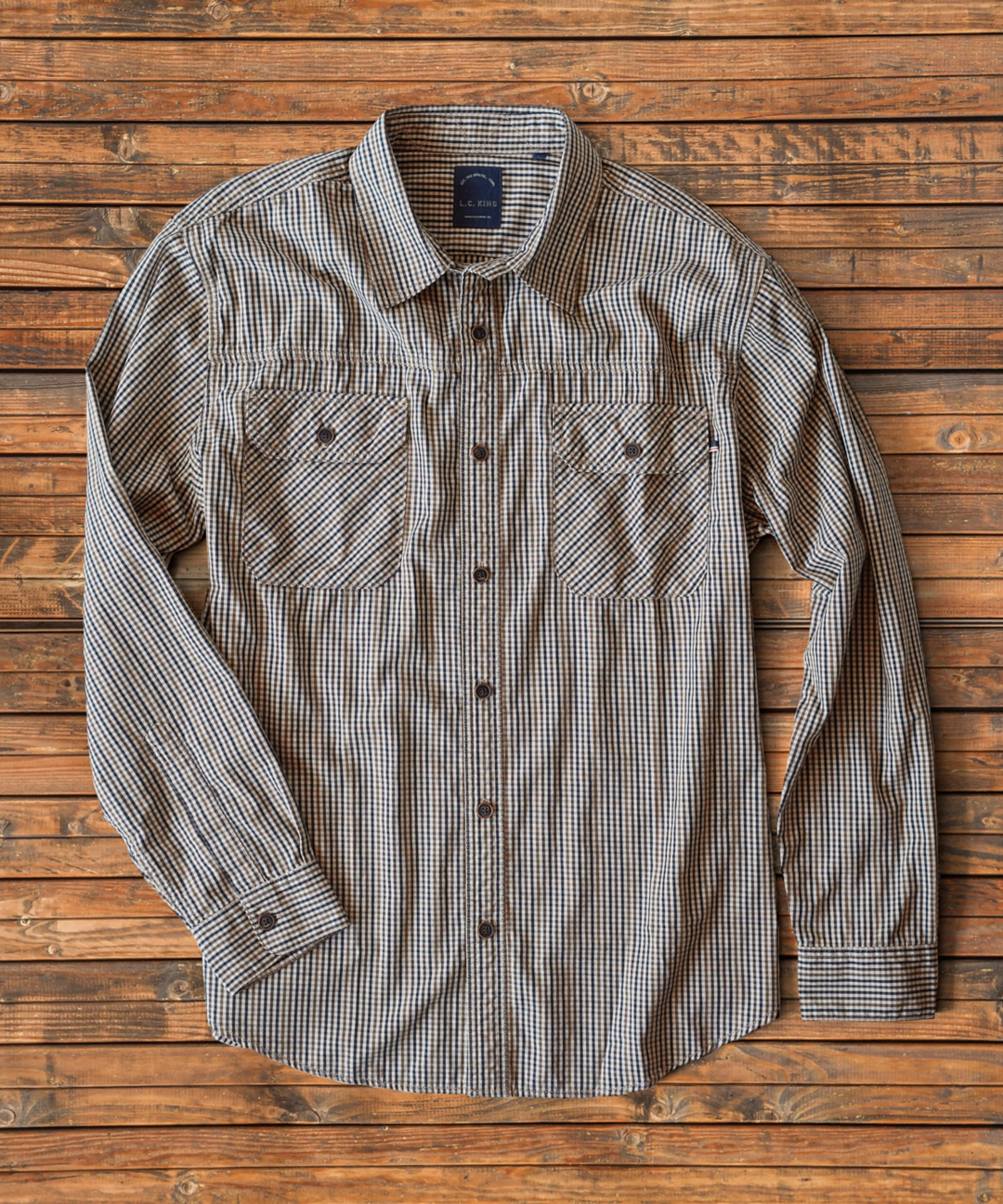Rover Field Tattersall Shirt