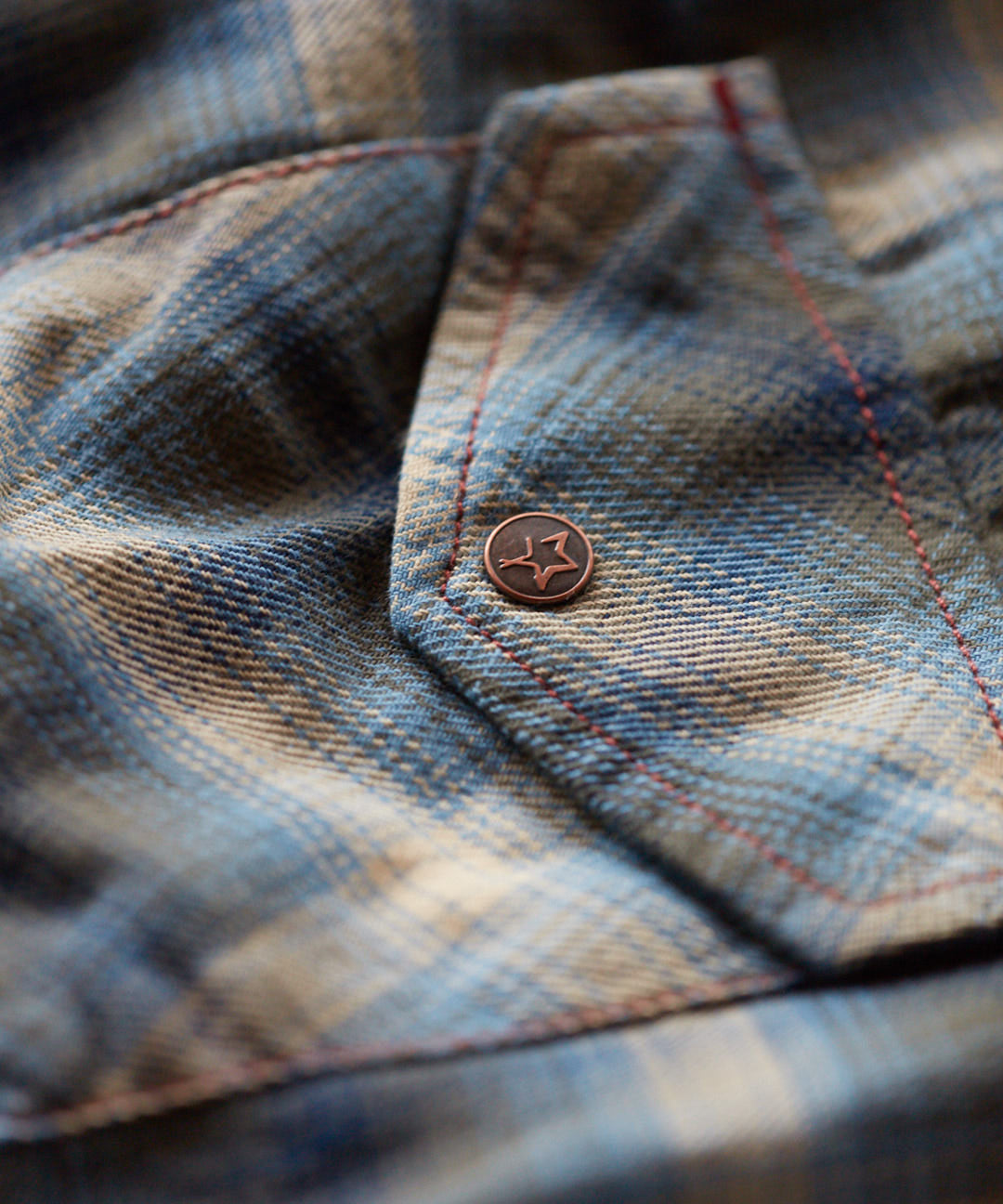 Indigo Blue Ridge Western Shirt