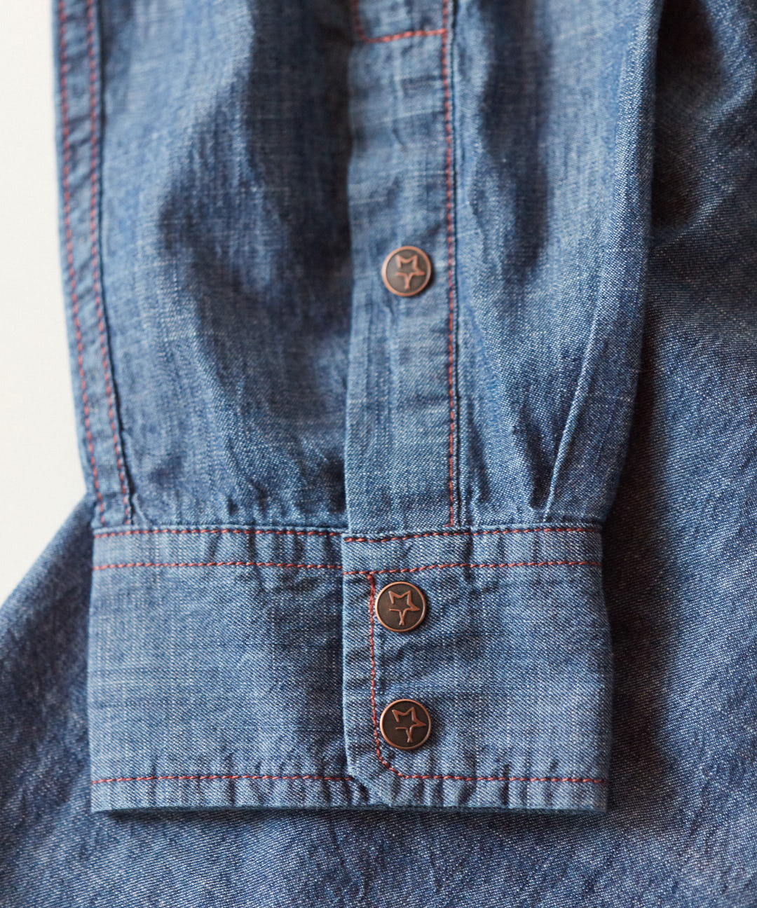 Perpetual Denim Western Shirt