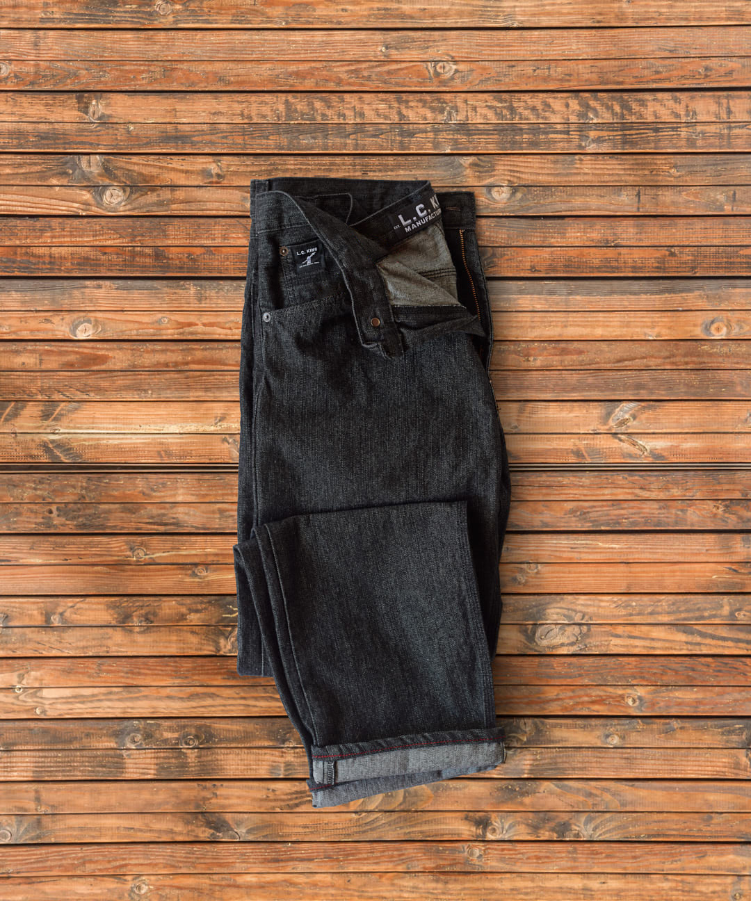 Black Denim 5 Pocket Jean